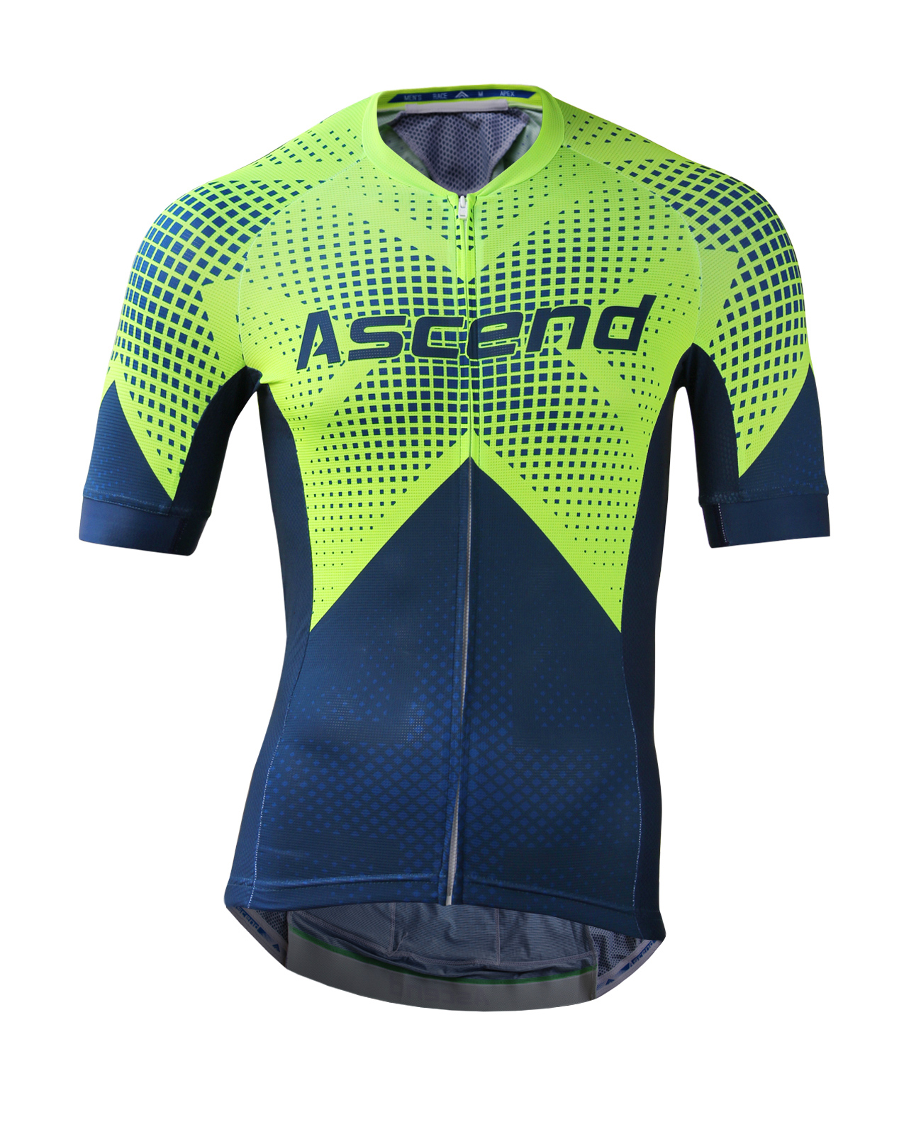 Apex elite custom cycling jersey ascend sportswear for Custom cycling jersey template