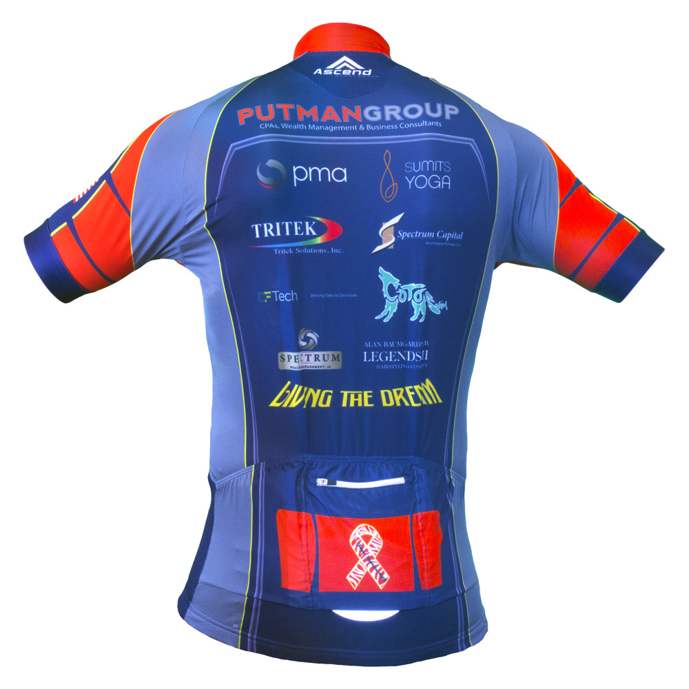 Apex jersey back vdev for Custom cycling jersey template