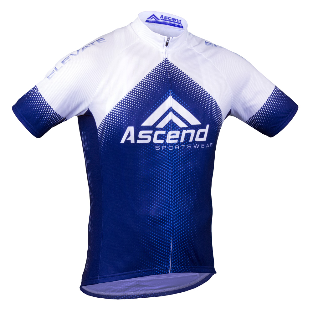 Elevate custom cycling jersey ascend sportswear for Custom cycling jersey template