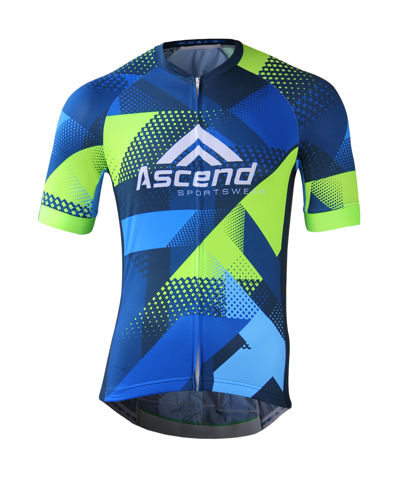 ff327b87141 APEX Custom Cycling Jersey - Ascend Sportswear