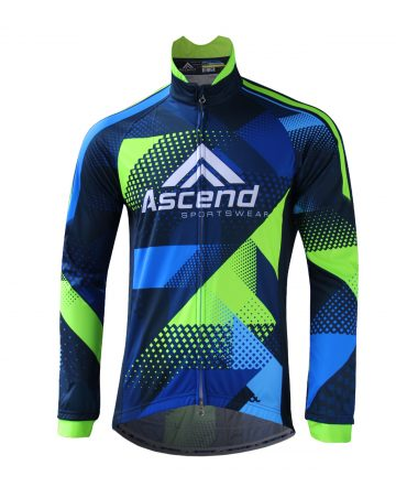 APEX Cycling Wind Jacket (Men's) – FRONT