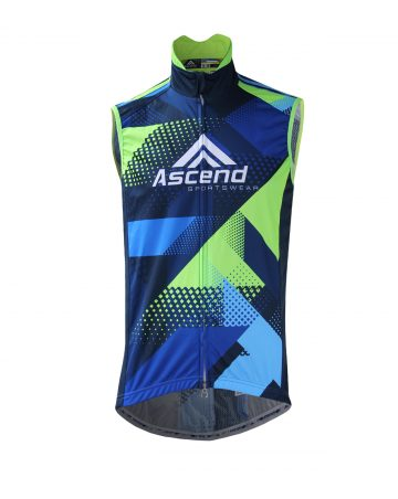 APEX Cycling Wind Vest (Men's-AD009) – FRONT