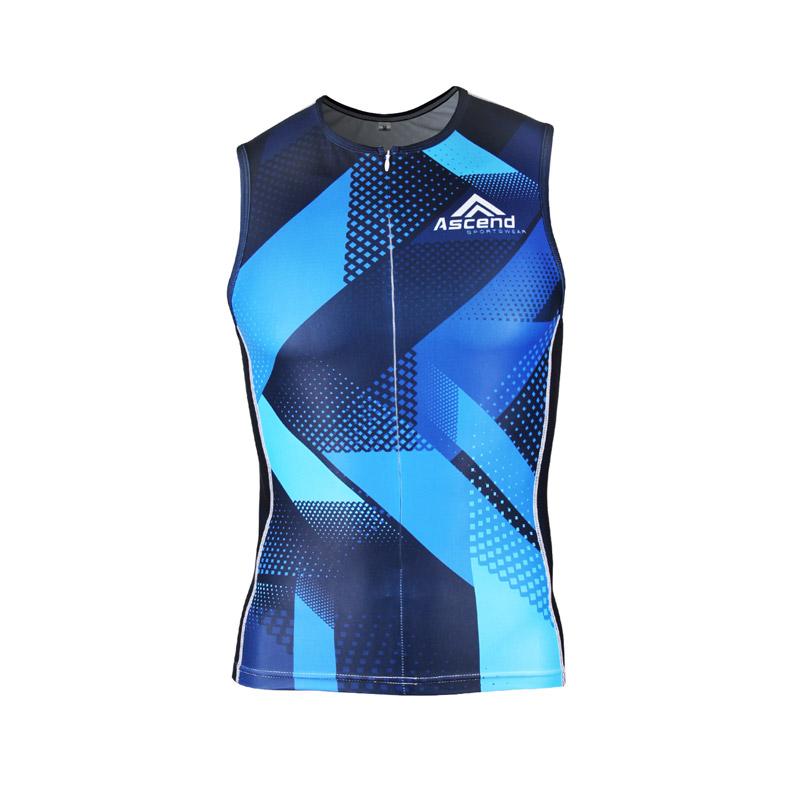 1fb92f2bed7df4 Apex Triathlon Singlet - Men s - Ascend Sportswear