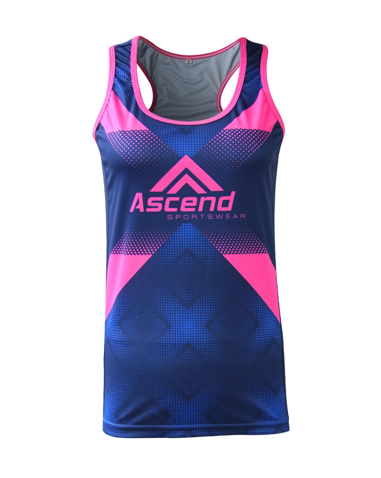 Elevate Women S Custom Running Singlet Ascend Sportswear