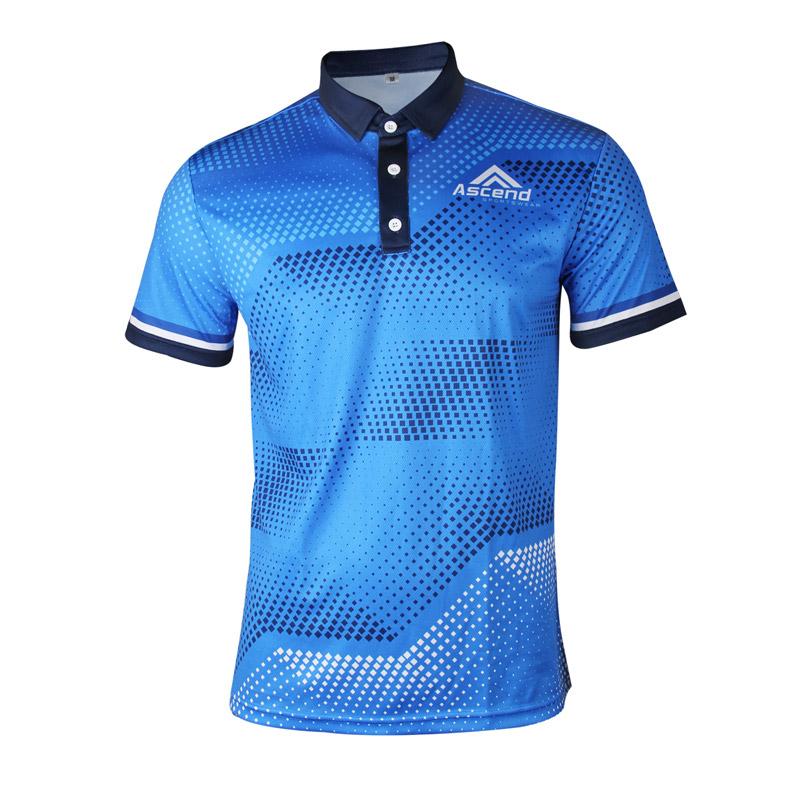 Elevate Custom Men S Polo Shirt Ascend Sportswear