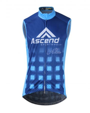 Volare Cycling Wind Vest (Men's) – FRONT