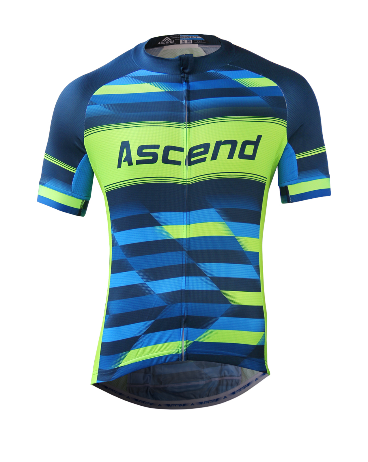 Volare elite custom cycling jersey ascend sportswear for Custom cycling jersey template